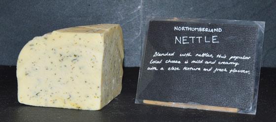 Northumberland Nettle Cheese
