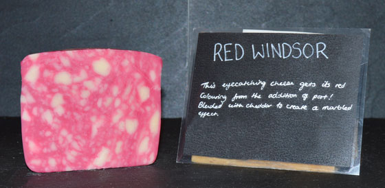 Red Windsor Cheese