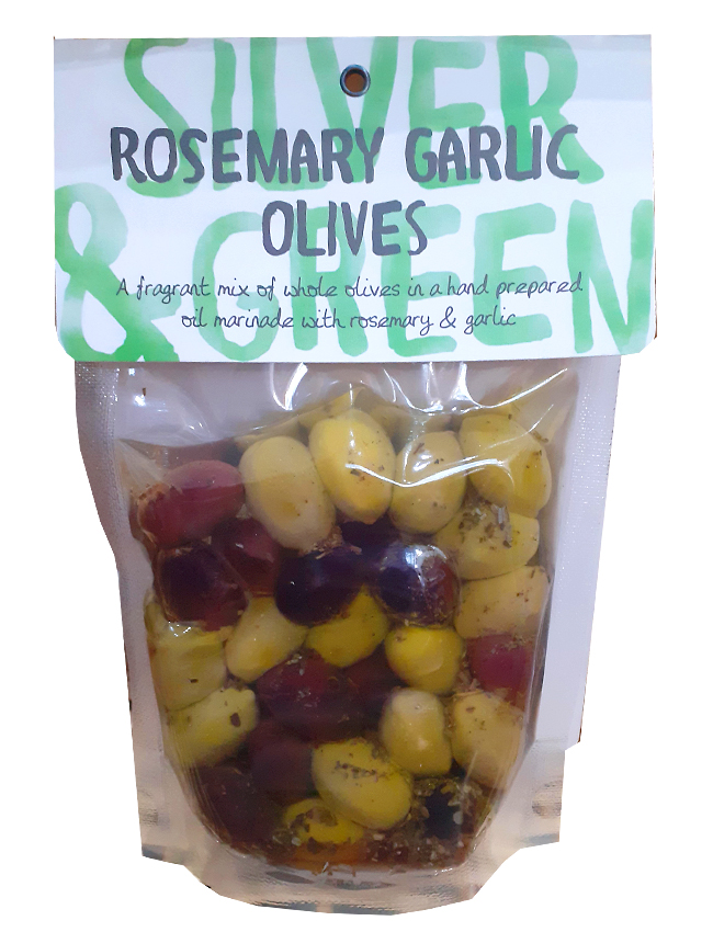 Rosemary Garlic Olives
